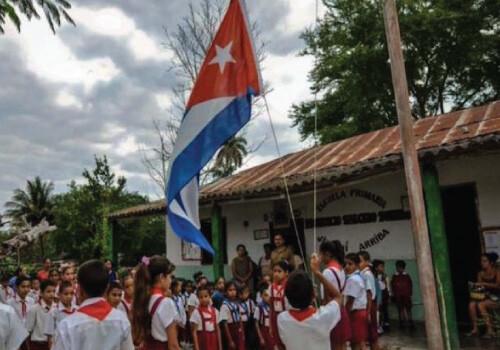 """""""Devrim tüm Küba'yı okul haline getirdi"""""""